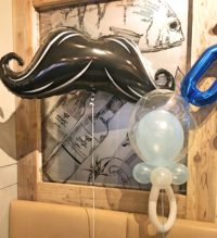 BOY'S BABY SHOWER MUSTACHE