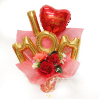 I love MOM table top balloon