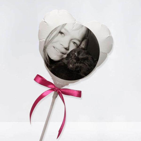 Photo Printed Balloon Stick