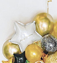 GOLD STAR オリジナルバブルバルーン&オリジナル写真プリントバルーン Table Top